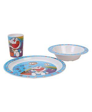 B Vishal Doraemon Dinner Set - 3 Pieces