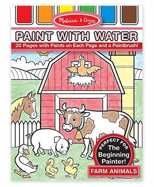 Melissa & Doug Farm Animals Paint with Water