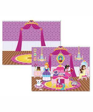 Melissa & Doug Reusable Castle and Princess Sticker Pad