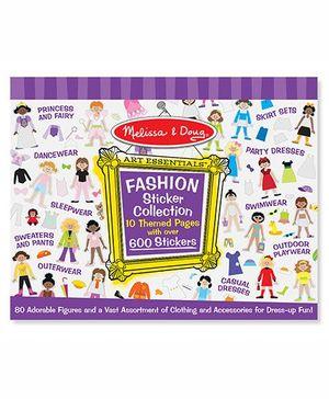 Melissa & Doug Fashion Sticker Collection