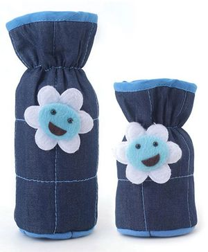 1st Step Denim Bottle Cover Pack of 2 - Blue