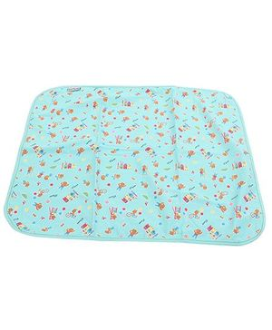 1st Step Diaper Changing Mat Printed - Green