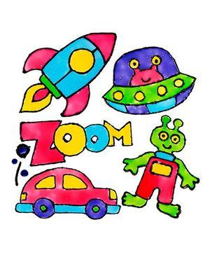 Alex Toys Window Sticker Art - Zoom