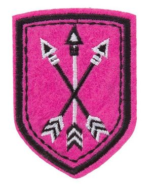 Alex Toys Iron And Wear Rad Patch - Pink
