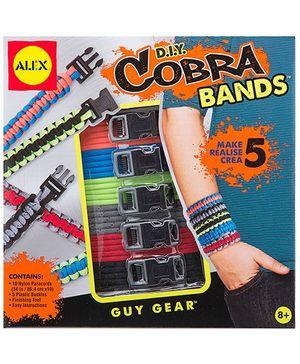 Alex Toys D I Y Cobra Bands - Multicolor
