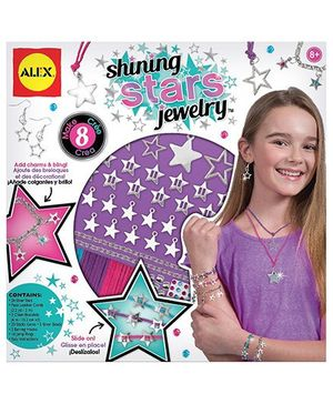 Alex Toys Shining Stars Jewelry Making Kit - Multicolor