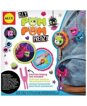 Alex Toys Pom Pom Frenzy - Multicolor