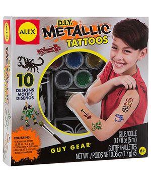 Alex Toys DIY Metallic Tattoos - Multicolor