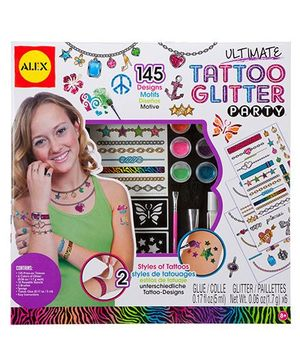 Alex Toys Ultimate Tattoo Glitter Party - Multicolor