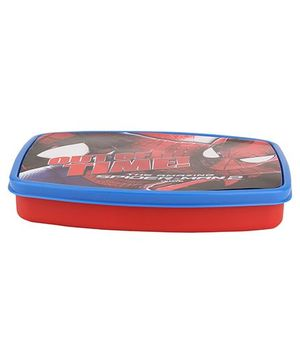 Cello Homeware Spider Man Print Lunch Box - Red And Blue