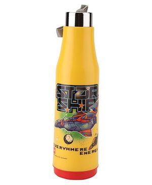 Cello Homeware Double Wall Insulated Bottle - Yellow