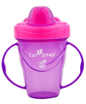 1st Step Spill Proof Cup - Purple