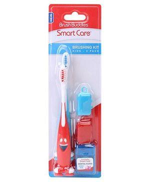 Brush Buddies Brushing Kit (Colors And Chararcters May Vary)