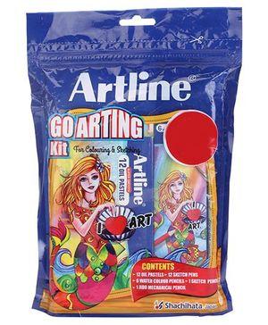 Artline Go Arting kit Pack Of 5 - Blue
