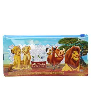 Disney Lion King Sparkle Pencil Pouch - Blue