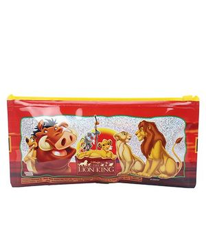 Disney Lion King Pencil Pouch - Red