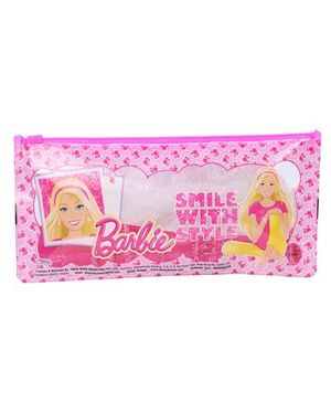 Barbie Smile With Style Pencil Pouch - Pink