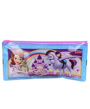 Disney Sofia the first Pencil Pouch - Blue