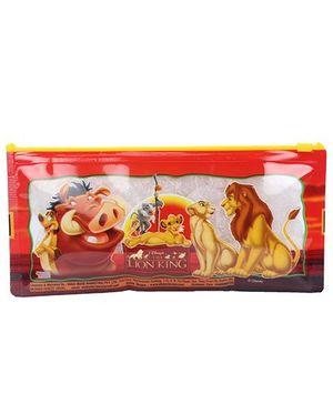 Disney Lion King Sparkle Pencil Pouch - Red