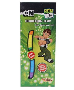 Ben 10 Modelling Clay Pouch