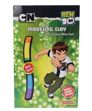 Ben 10 Modelling Clay Pouch - 100 Grams
