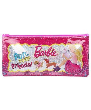 Barbie Regular Pencil Pouch - Pink