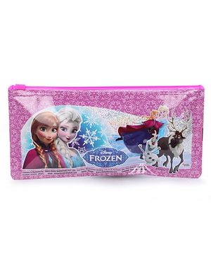 Disney Frozen Regular Pencil Pouch - Purple