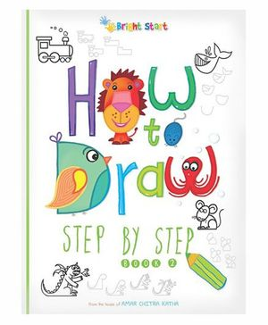 How To Draw Step By Step Book No. 1 - English