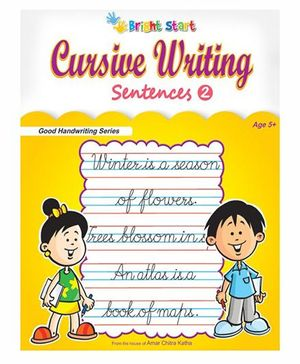 Cursive Writing Sentences No. 2 - English