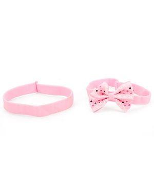 Addon Headband Set Of 2 - Pink