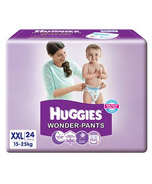 Huggies Wonder Pants Extra Extra Large Pant Style Diapers - 24 Pieces