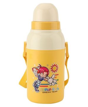 Cello Homeware Insulated Water Bottle Yellow - 400 ml