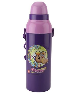 Cello Homeware Bheem Print Water Bottle - Purple