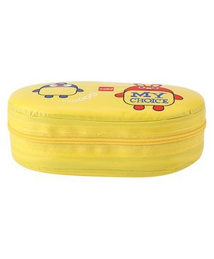 Cello  - yellow - my choice Lunch Box,Soft Touch Body, Plastic Container