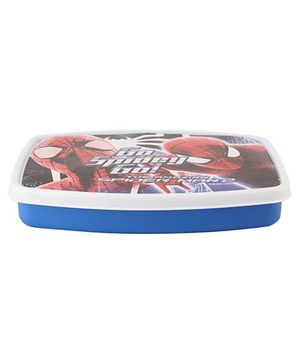 Cello Homeware Spider Man Print Lunch Box - Blue And Red
