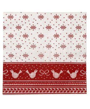 Charmed Celebrations Knitted Noel Paper Napkins