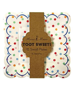Charmed Celebrations Toot Sweet Paper Plates Small