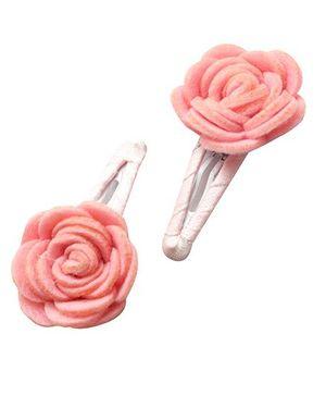 D'chica Felt Flower Tic Tac - Pink