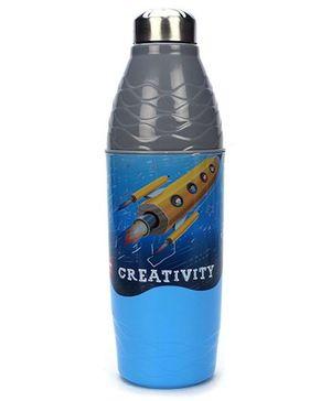 Cello Homeware Wonder Bottle - Blue And Grey