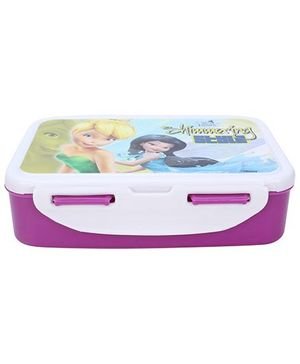 Cello Homeware Disney Fairies Lunch Box - Purple