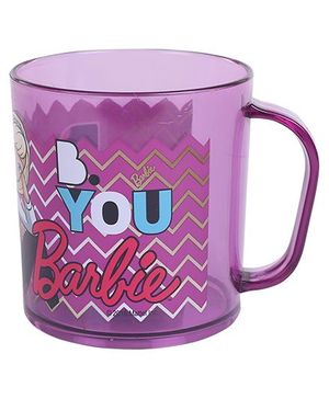 Barbie Clear Mug Purple - 350 ml