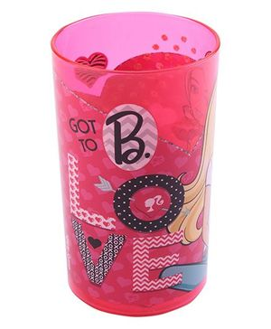 Barbie Clear Tumbler Pink - 250 ml