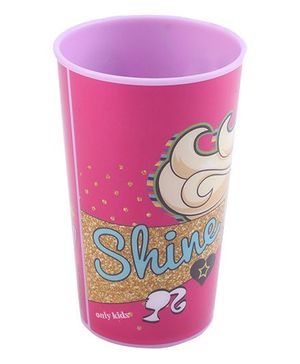 Barbie Tumbler Shine Print Purple - 250 ml