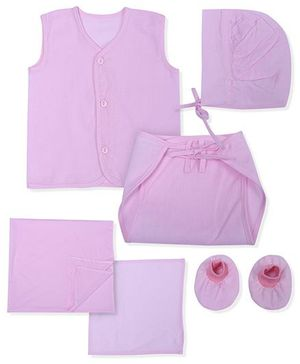 Babyhug Clothing Gift Set Pack Of 12 - Pink