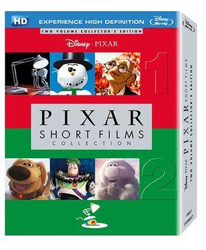 Disney Pixar Shorts Films Collection Volume 1 And 2 English -
