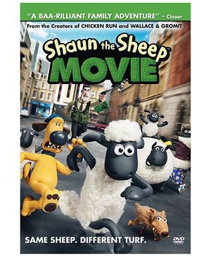 Sony Shaun The Sheep Movie DVD - English