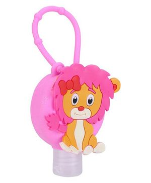 Lion Shape Sanitizer Dispenser - Pink