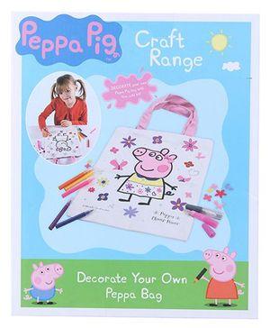 Hamleys Peppa Pig Bag Decoration Kit