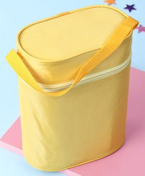 Insulated Double Bottle Bag - Dark Yellow