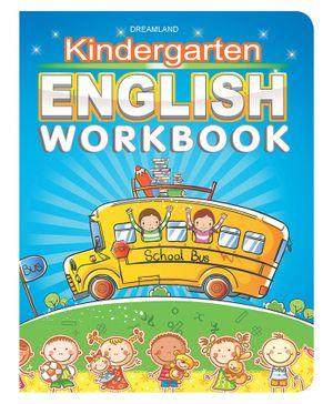 Kindergarten English Work Book - English
